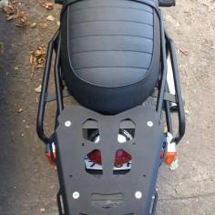 SET - Adventure rack for Triumph Bonneville T100 + ALU t-c