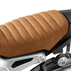 Scrambler single seat bench