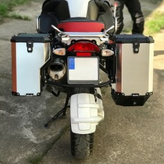 PRO pannier system for BMW1200GS/Adv with Nomada EXPEDITION panniers