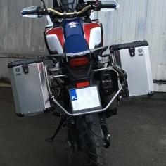 System PRO do CRF1000 z kuframi Nomada PRO II
