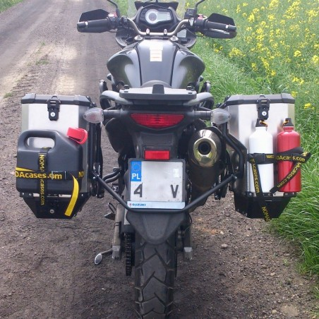 PRO pannier system for BMW 1100/1150GS/Adv with Nomada EXPEDITION panniers