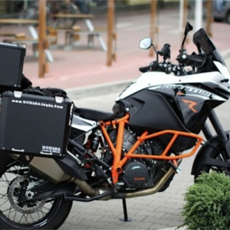 PRO pannier system for BMW1200GS/Adv LC with Nomada EXPEDITION panniers