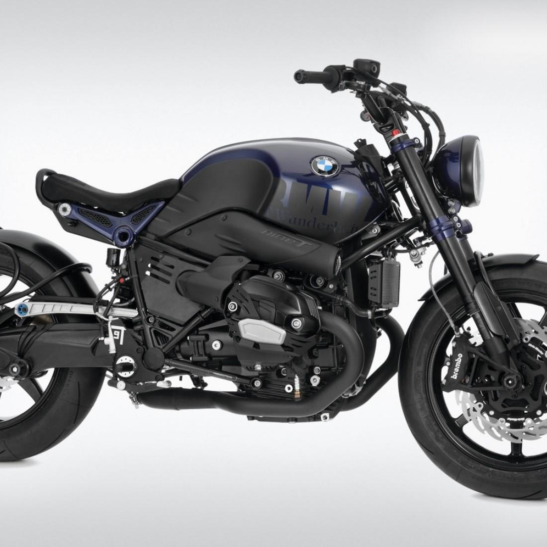 R Ninet Tail Conversion Bobber Black