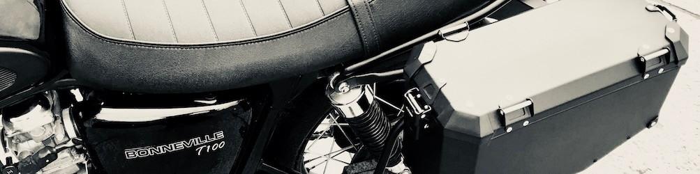 Triumph Bonneville - kufry i akcesoria